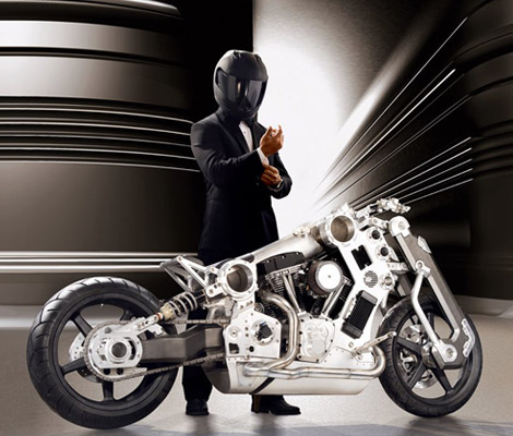 Limited Edition C120 Renaissance Fighter Motorcycle