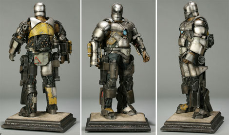 Iron Man Mark I Maquette