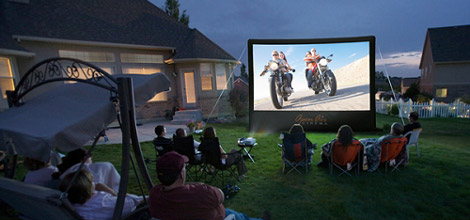 Open Air Cinema Outdoor Movie Screen