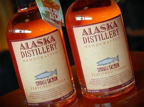 Smoked Salmon Flavored Vodka