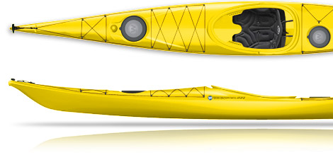 Wilderness Systems Zephyr 155 Sea Kayak