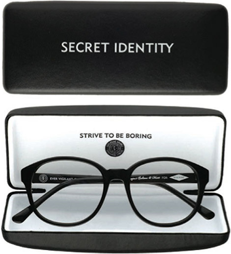 Secret Identity Eyeglass Kit