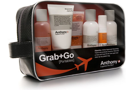 Anthony Logistics Grab & Go Travel Kit