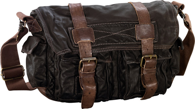 Timberland Satchel Leather Bag