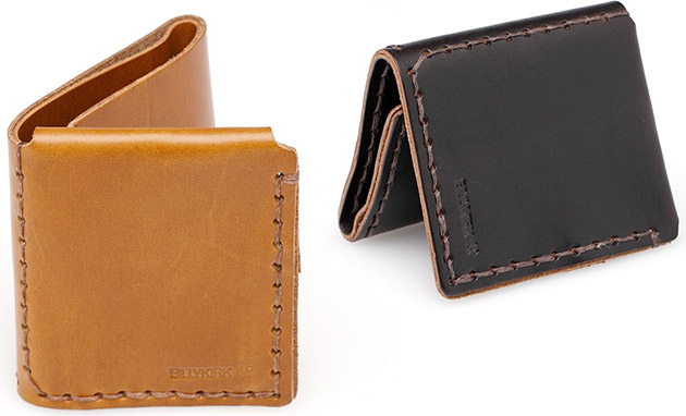 BillyKirk Tri Fold Wallet
