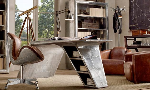 Aviator Wing Desk