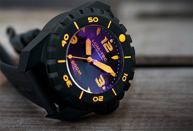 Lum-Tec 500M-3 Diver Watch