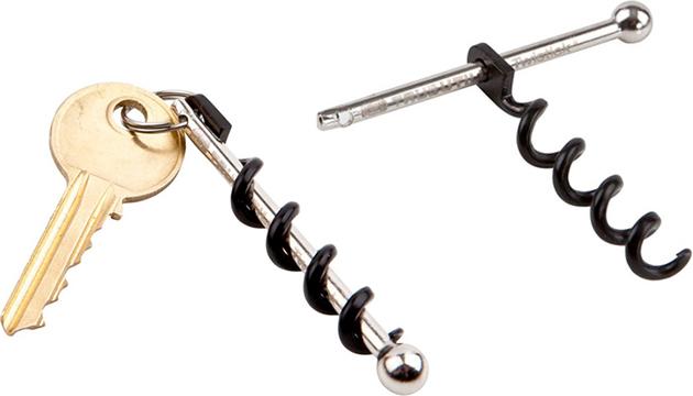 Twistick Keychain Corkscrew