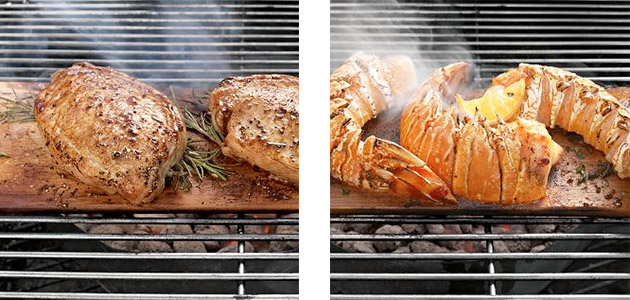 Flavored Wood Grilling Planks