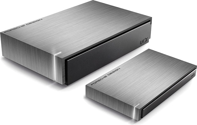 Lacie Porsche Design Hard Drives