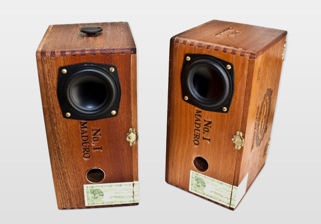 Maduro Sonos Cedar Cigar Desktop Speakers