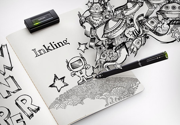 Wacom Inkling Digital Drawing Pen