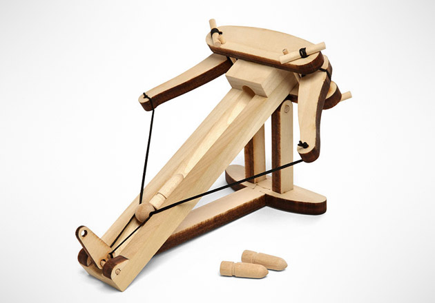 Desktop Wooden Ballista Kit
