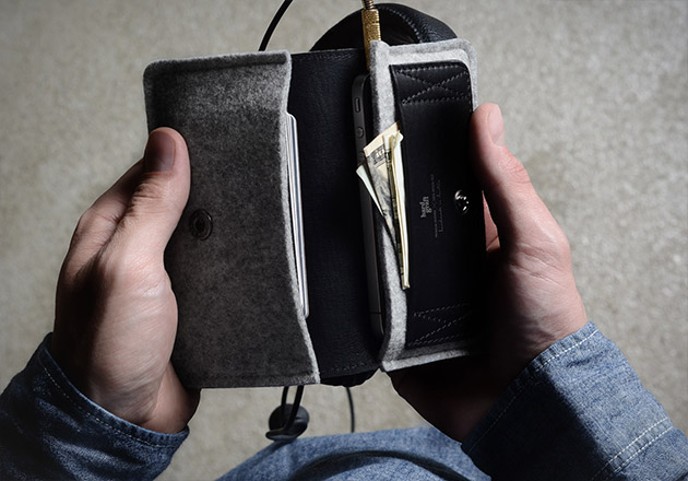 Hard Graft Phone Fold Wallet