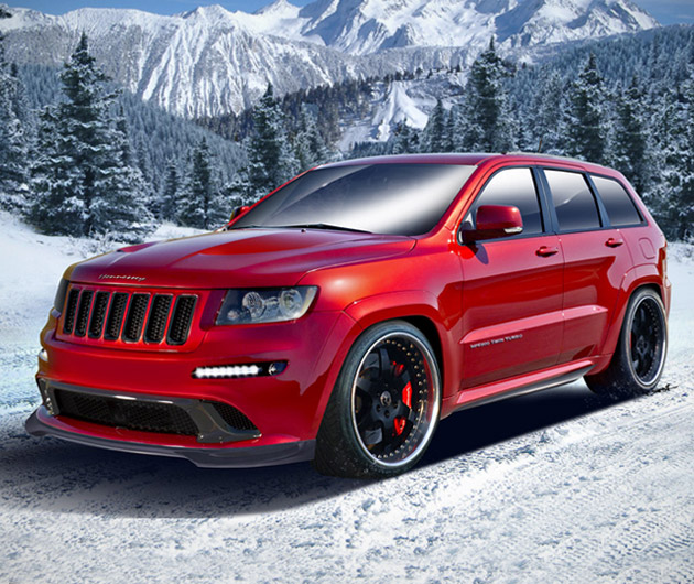 2013 HPE800 Twin Turbo Jeep