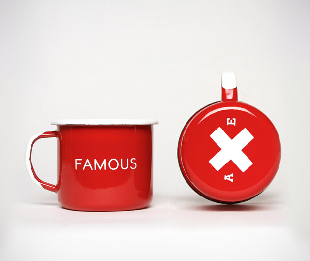 Best Made Famous Red Enamel Steel Cups