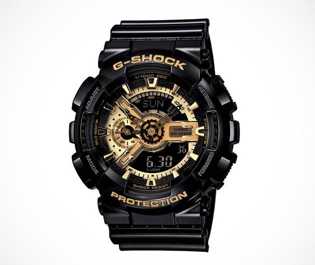 Casio G-Shock Black & Gold GA110GB-1A