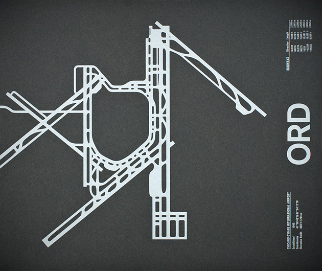 Nomo Design Airport Runway Screenprints