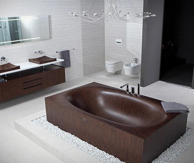 Alegna Wooden Bathtubs