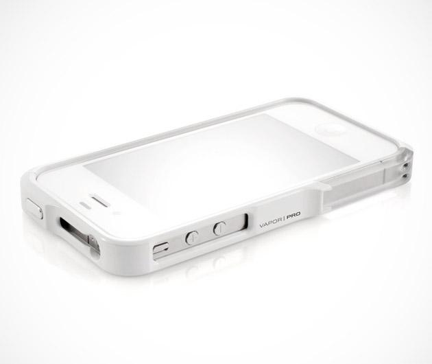 Element Case Vapor Pro White Edition iPhone Case