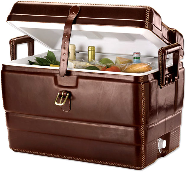 Orvis Leather Cooler