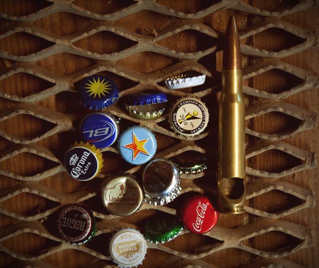 50 Caliber Bullet Bottle Opener