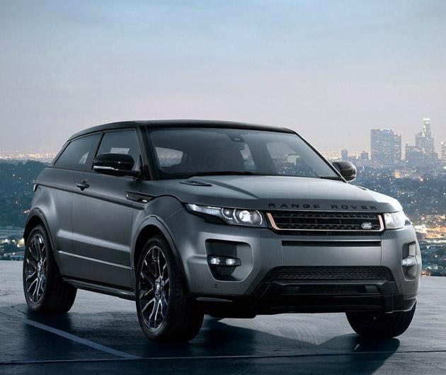 Land Rover Range Rover Evoque: Land Rover Range Rover Evoque Victoria Beckham Edition