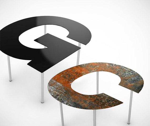 Fontable Alphanumeric Furniture