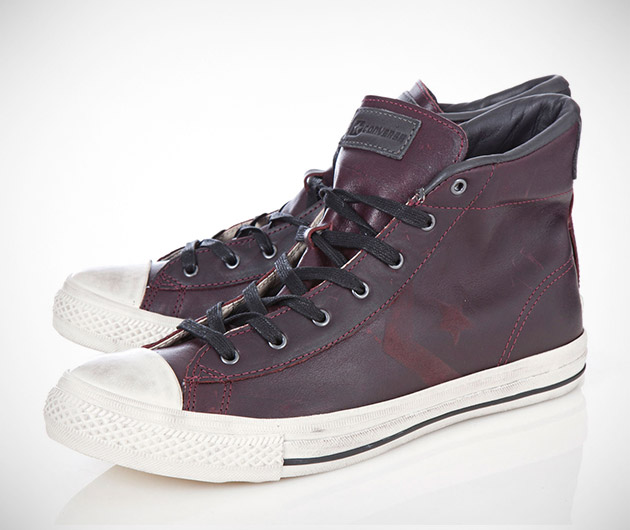 Converse JV Star Player Leather Hightops