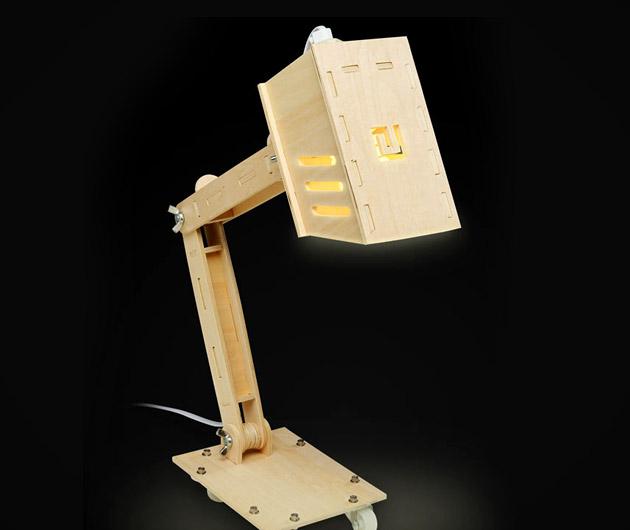 DIY Classic Desk Lamp