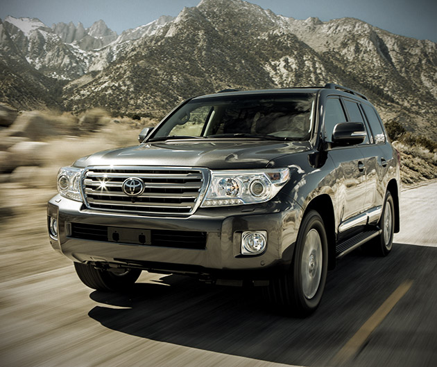 Toyota Off Road Series: 2013 Land Cruiser
