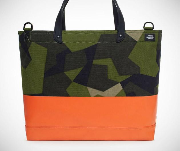 Jack Spade Swedish M90 Camo Bags