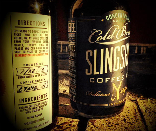 Slingshot Cold Brew Coffee