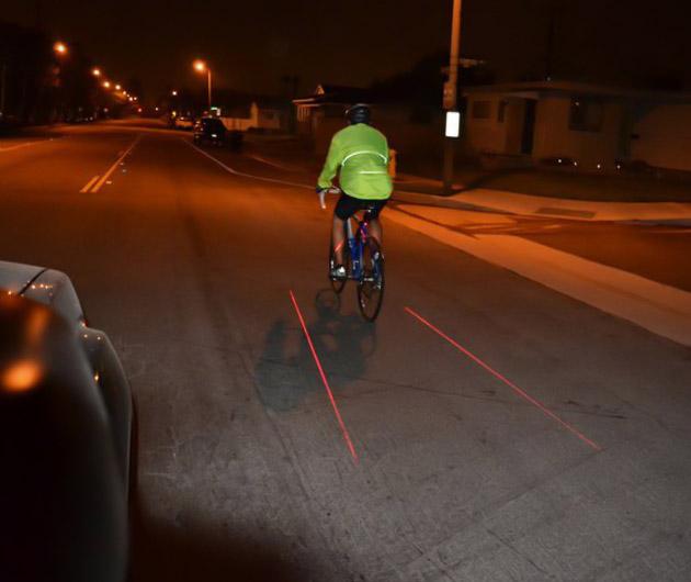 X-Fire – Bicycle Laser Lane Marker