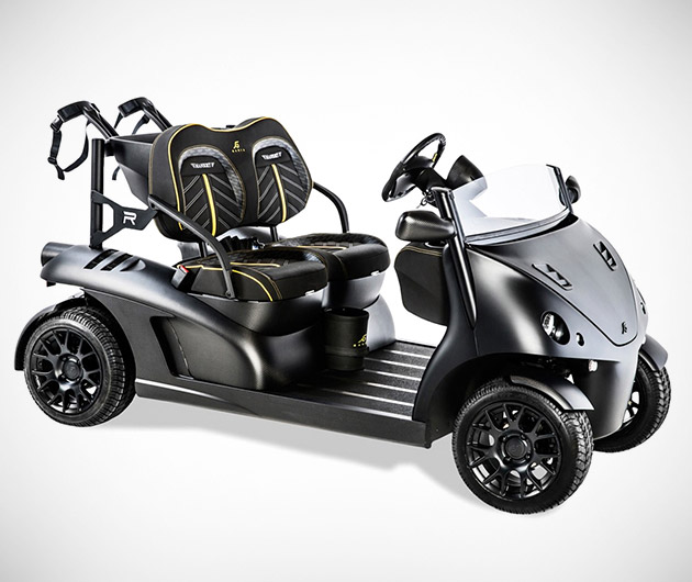 Garia Mansory Currus Golf Cart