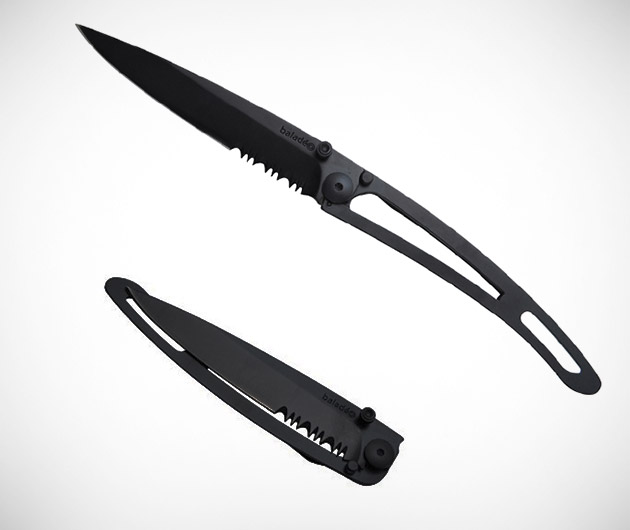 All Black 34 Gram Pocket Knife