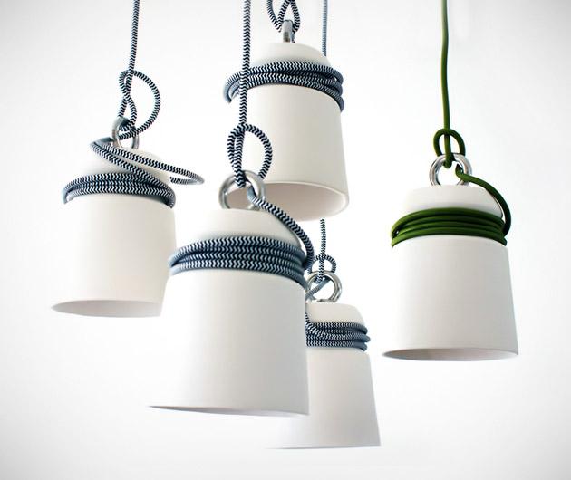 Patrick Hartog Ceramic Cable Lights