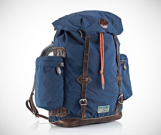 Ralph Lauren Nylon Utility Backpack