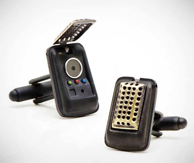 Star Trek 3-D Communicator Cufflinks