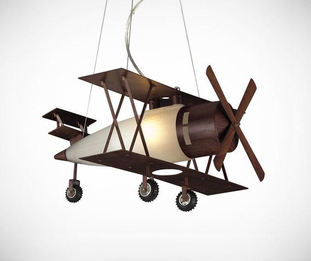 Bi-Plane Hanging Pendant