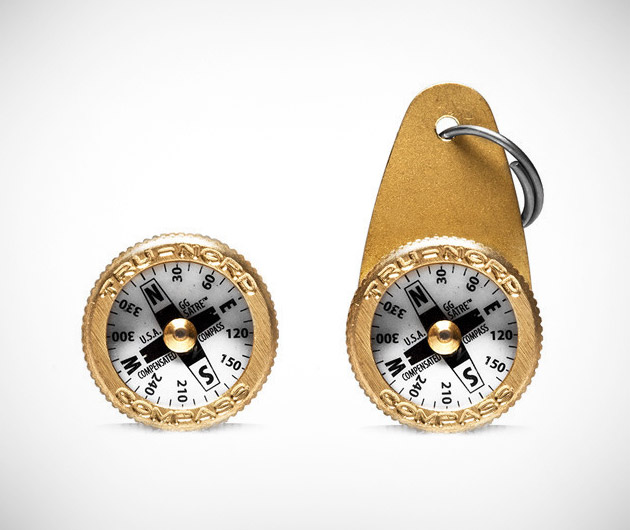 Everyday Carry Brass Compass