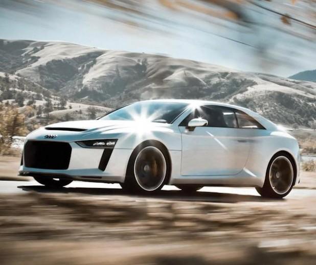 2013 Audi Sport Quattro Concept First Look: Audi Sport Quattro Concept