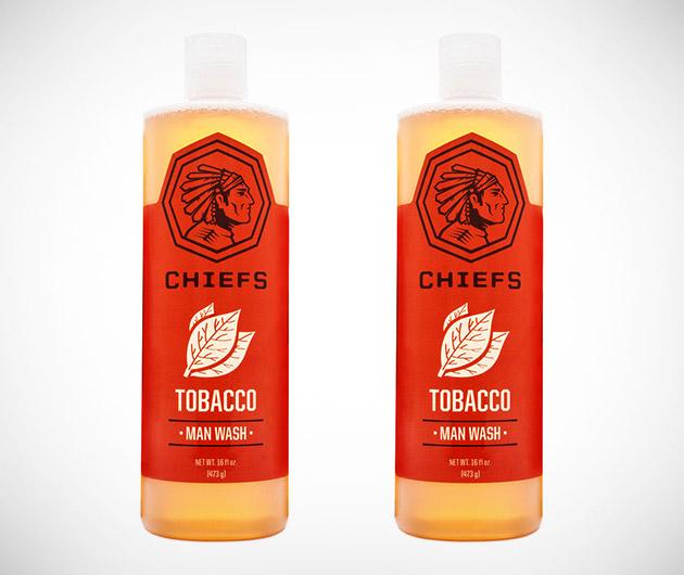 Chiefs Tobacco Man Wash