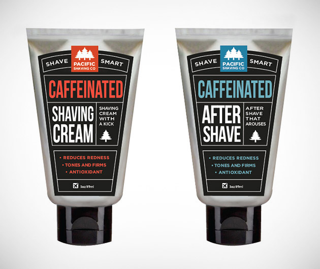 Pacific Caffeinated Shaving Stuff