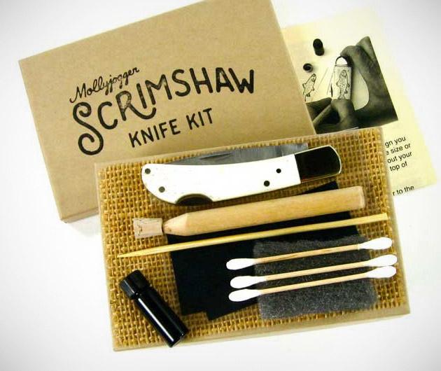 Scrimshaw Knife Kit