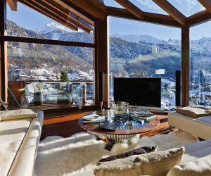 6 Star Ultimate Swiss Luxury Chalet Zermatt Peak