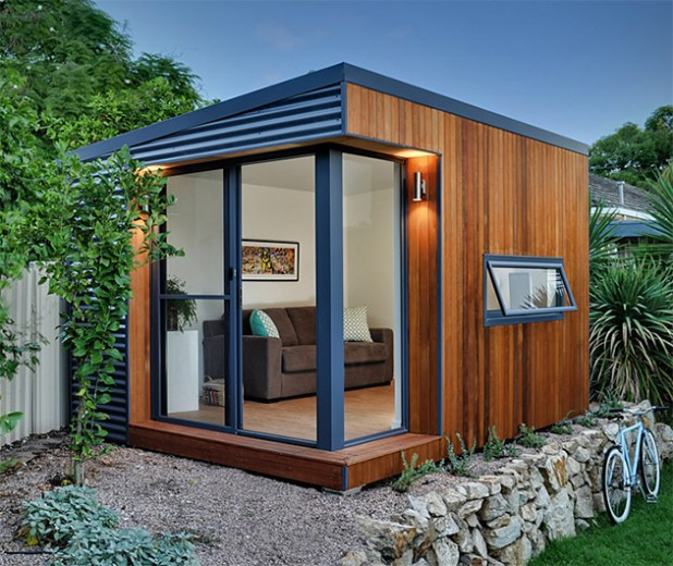backyard garden studio « Inhabitat – Green Design ...