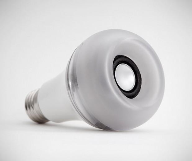 Twist Led Light Bulb Airplay Speaker Gearculture