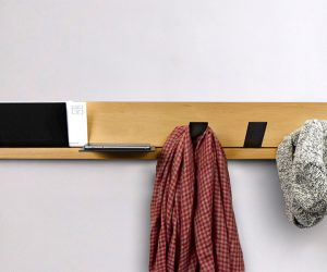 Keep Track Coat Hook
