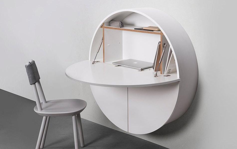 Pill Wall-Mounted Desk